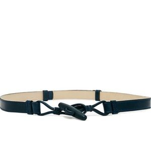 American apparel toggle belt navy